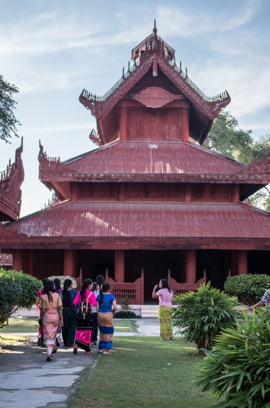 Myanmar - Mandalay - Palais Royal