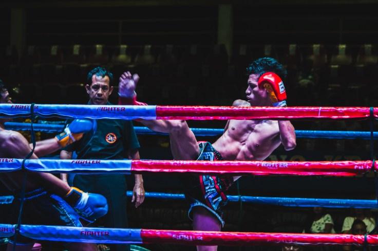 Thailande - Ao Nang - match boxe thai