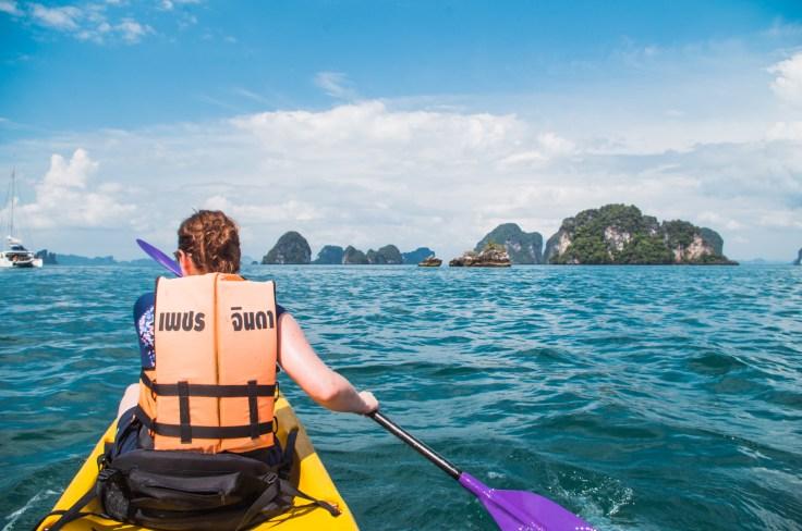 Thailande - Koh Hong - Kayak - Ariane