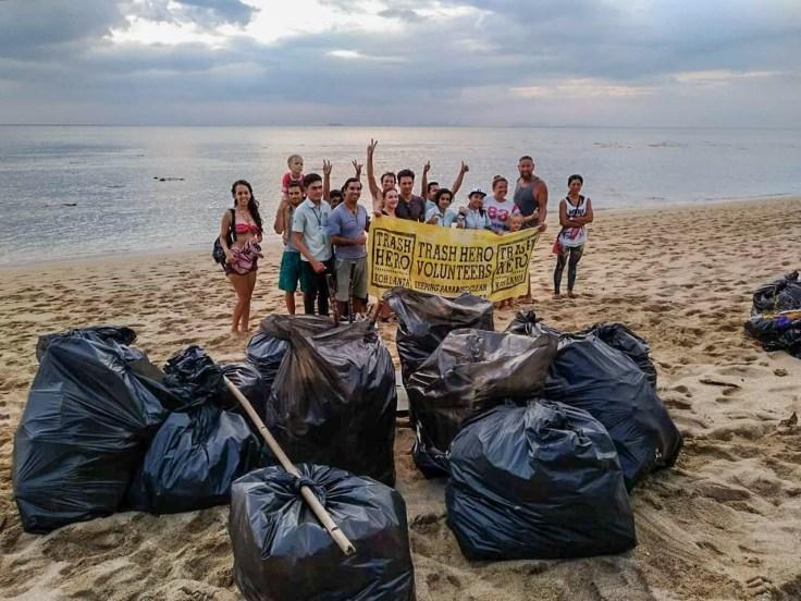 Thailande - Koh Lanta - Groupe Trash Hero