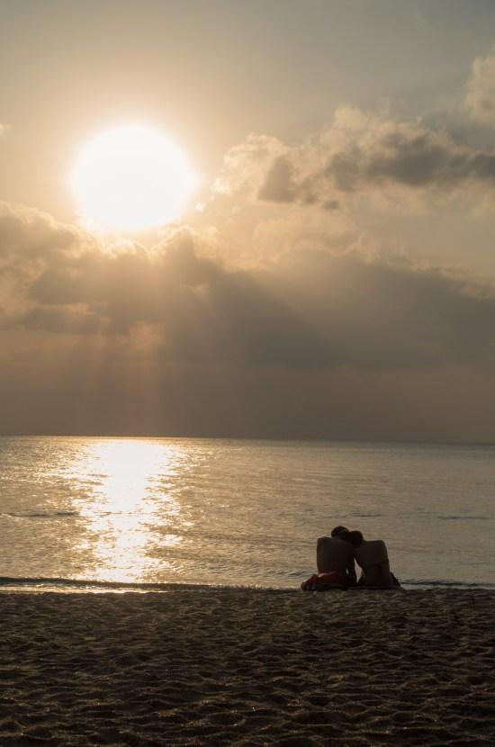 Thailande - Koh Lanta - couple - plage