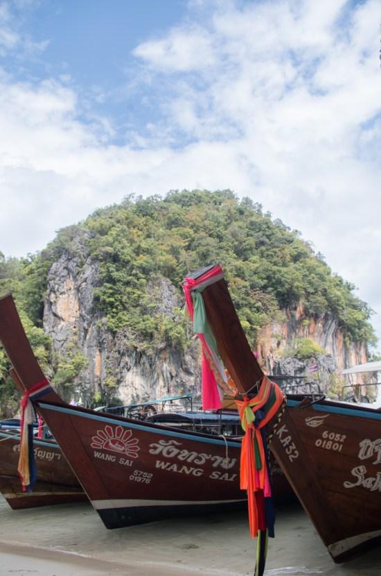 Thailande - Koh Lao Lading - bateaux
