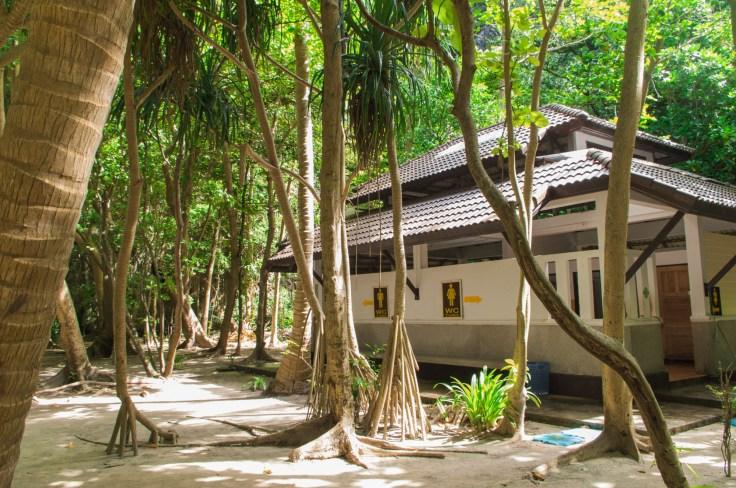 Thailande - Koh Phi Phi Ley - Toilettes