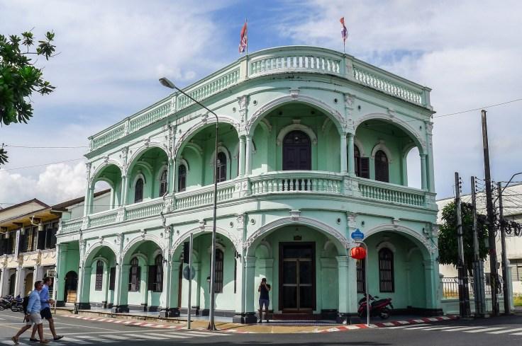 Thailande - Phuket - Old Town - Quartier sino-portugais