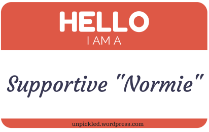 Supportive Normie nametag