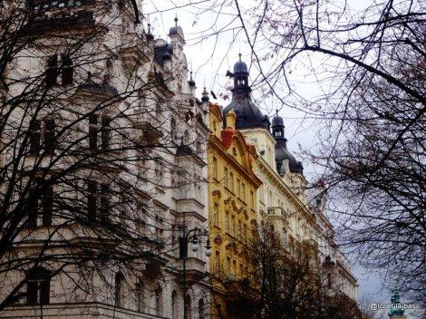 Avenue Paris à Prague