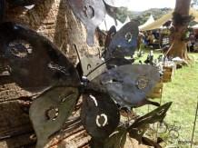 Artisanat kenyan en métal