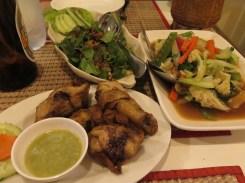 Dinner at Laos Kitchen