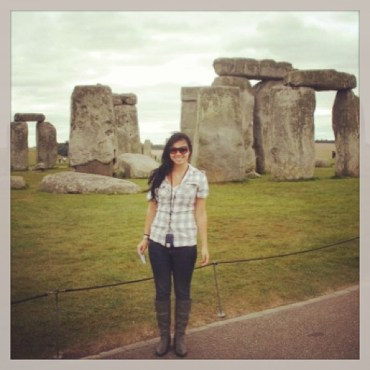 Visiting Stonehenge, Day 1 in England