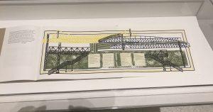 Armajani Whitney Bridge Drawing