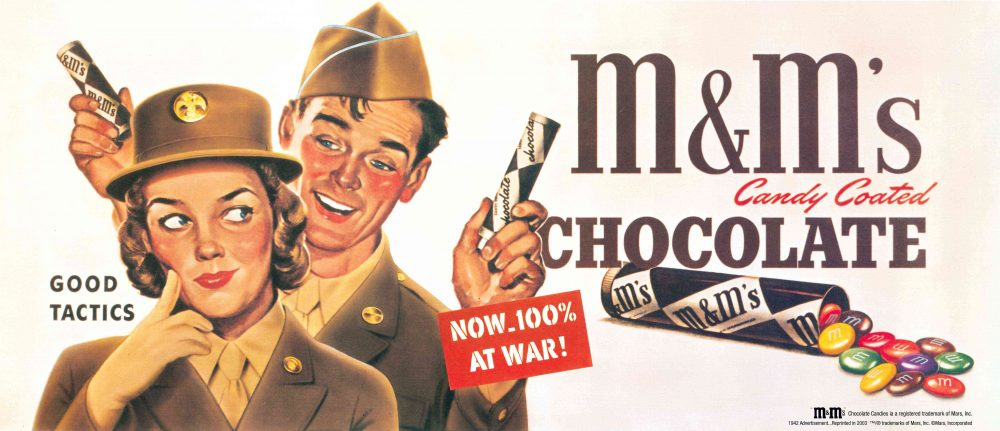 M&M's War Ad