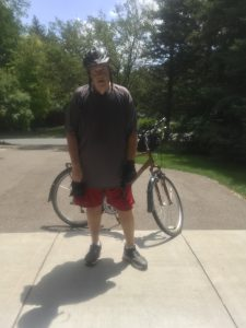 me on bike ride
