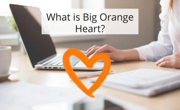 Big Orange Heart