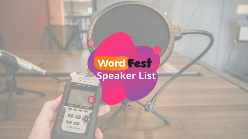 WordFest Speakers List