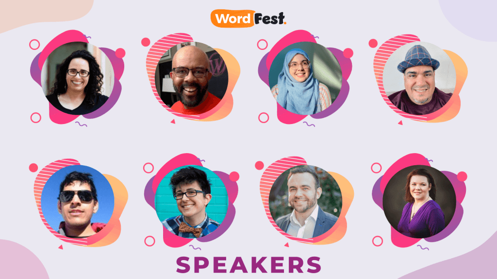 WordFest Speaker Batch 1