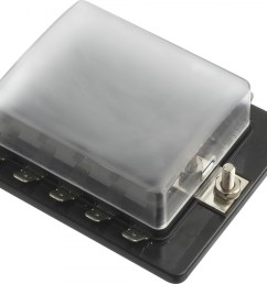 10 gang ato atc common bus fused distribution block with spade terminals [ 1200 x 1059 Pixel ]