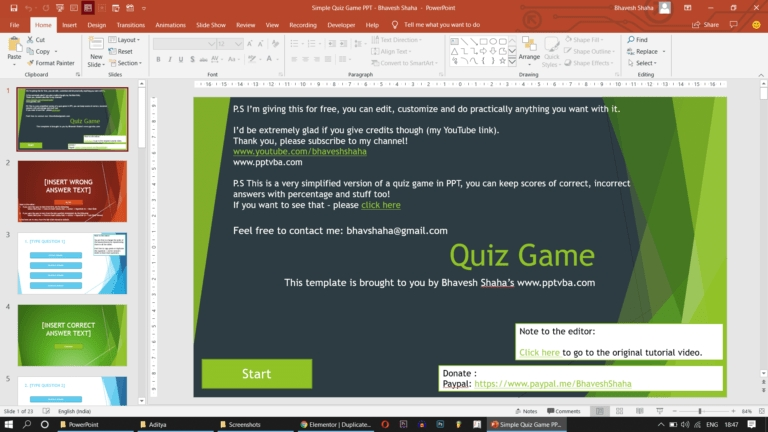 download animated powerpoint quiz game templates for free