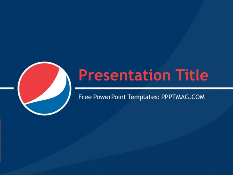 free pepsi cola powerpoint template pptmag