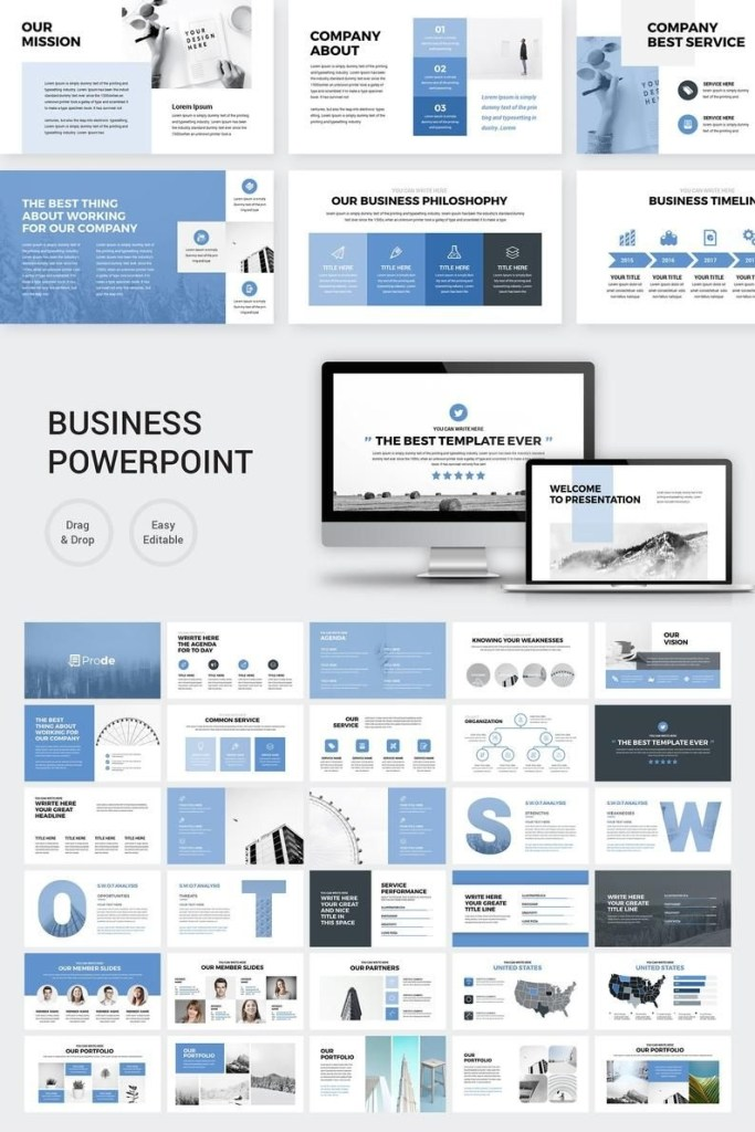 prode business powerpoint presentation template