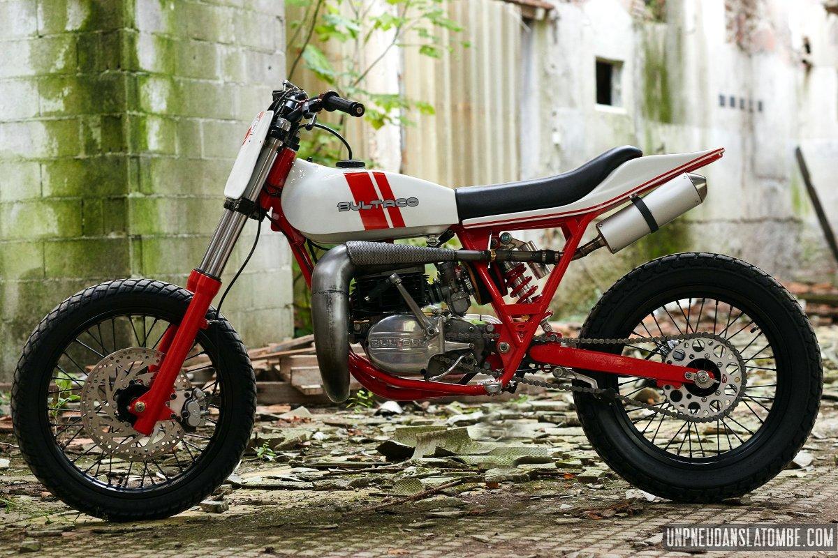 Bultaco Astro La Bitza Hommage De Freeride Motos