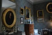 Salon, avec Portrait de George et Maurice Sand