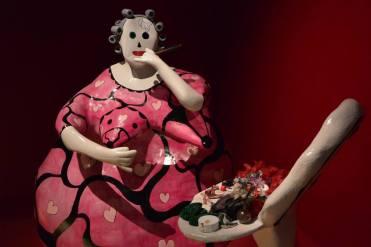 Niki de Saint Phalle, La Toilette, 1978, papier collé peint et objets divers, collection MAMAC, Nice © PointCulture