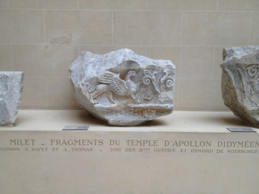 Fragments du temple d'Apollon