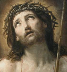 Guido Reni, Le Christ au roseau, dit aussi Ecce Homo, 1639-1640, Paris, musée du Louvre.