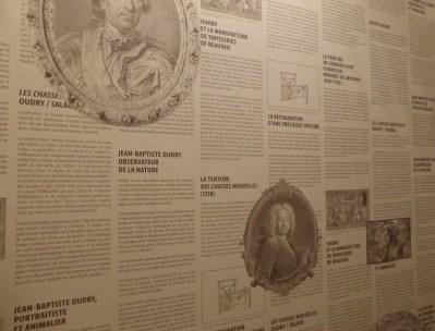 Salle d'introduction, exposition Chasses Nouvelles