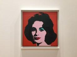 Andy Warhol, Liz#6 (Early Colored Liz), 1963, SFMOMA