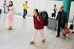 HONG KONG. Lo Wu MTR Station. Close to Mainland China. 2013.