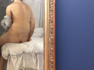 Jean-Auguste-Dominique Ingres -La baigneuse, dite Baigneuse Valpinçon (détail)