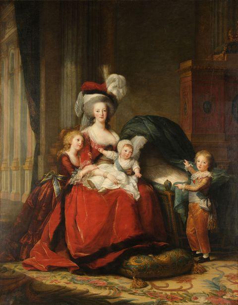 Vigée le Brun, Marie-Antoinette et ses enfants, 1787