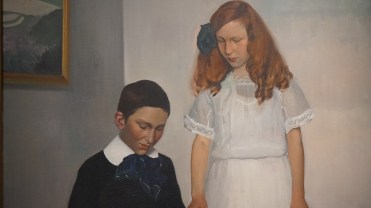 Félix Vallotton, Les Enfants Hahnloser, 1912 (détail)