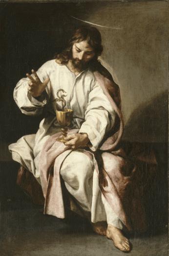 Alonso Cano, Saint Jean l'Evangéliste,1635 - 1637