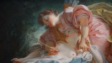 Jean-Honoré Fragonard, Céphale et Procris, vers 1755-1756 (détail)
