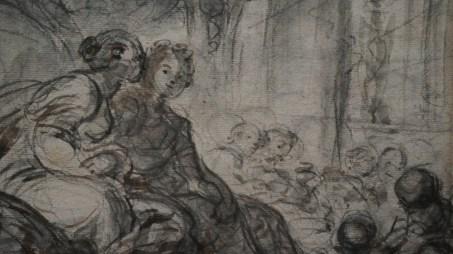 Jean-Honoré Fragonard, Alcine et Roger s'avouent leur passion mutuelle, vers 1780 (détail)