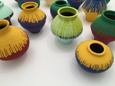 AI Weiwei, Colored Vases