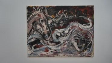 Anselm Kiefer, Ritt an die Weichsel [Chevauchée vers la Vistule], 1980