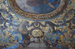 Michel Dorigny, détail de la voussure du Triomphe de Cérès, vers 1658-1660, Paris, hôtel de Lauzun. © Damien Tellas