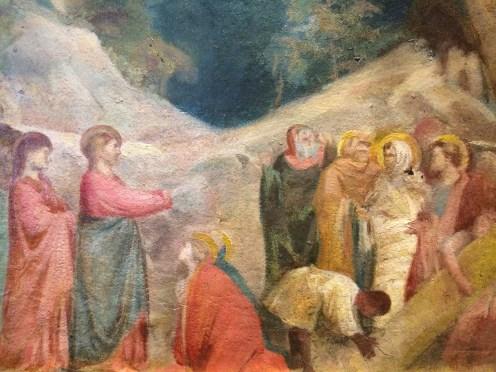 La Résurrection de Lazare (copie d'après les fresques de Giotto dans la chapelle Scrovegni de Padoue), 1860.