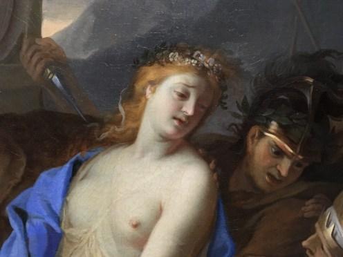 Charles Le Brun, Le Sacrifice de Polyxène, huile sur toile, 1647, New York, The Metropolitan Museum of Art. © Damien Tellas