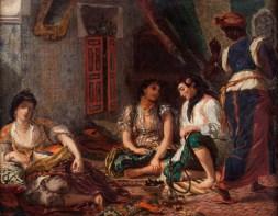 Henri Fantin-Latour, d'après Eugène Delacroix, Femmes d'Alger, huile sur toile. © Musée du Louvre, Dist. RMNGrand Palais / Harry Bréjat