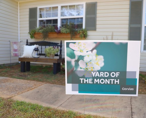military housing yard of the month