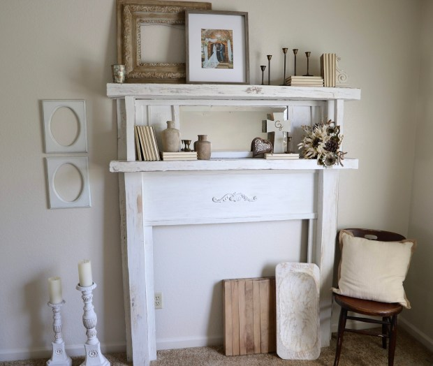 how to restore a vintage mantel from the 1920s