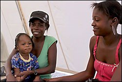 Haiti AIDS Patients Care Continues