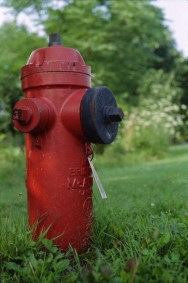 Hydrant on Fire