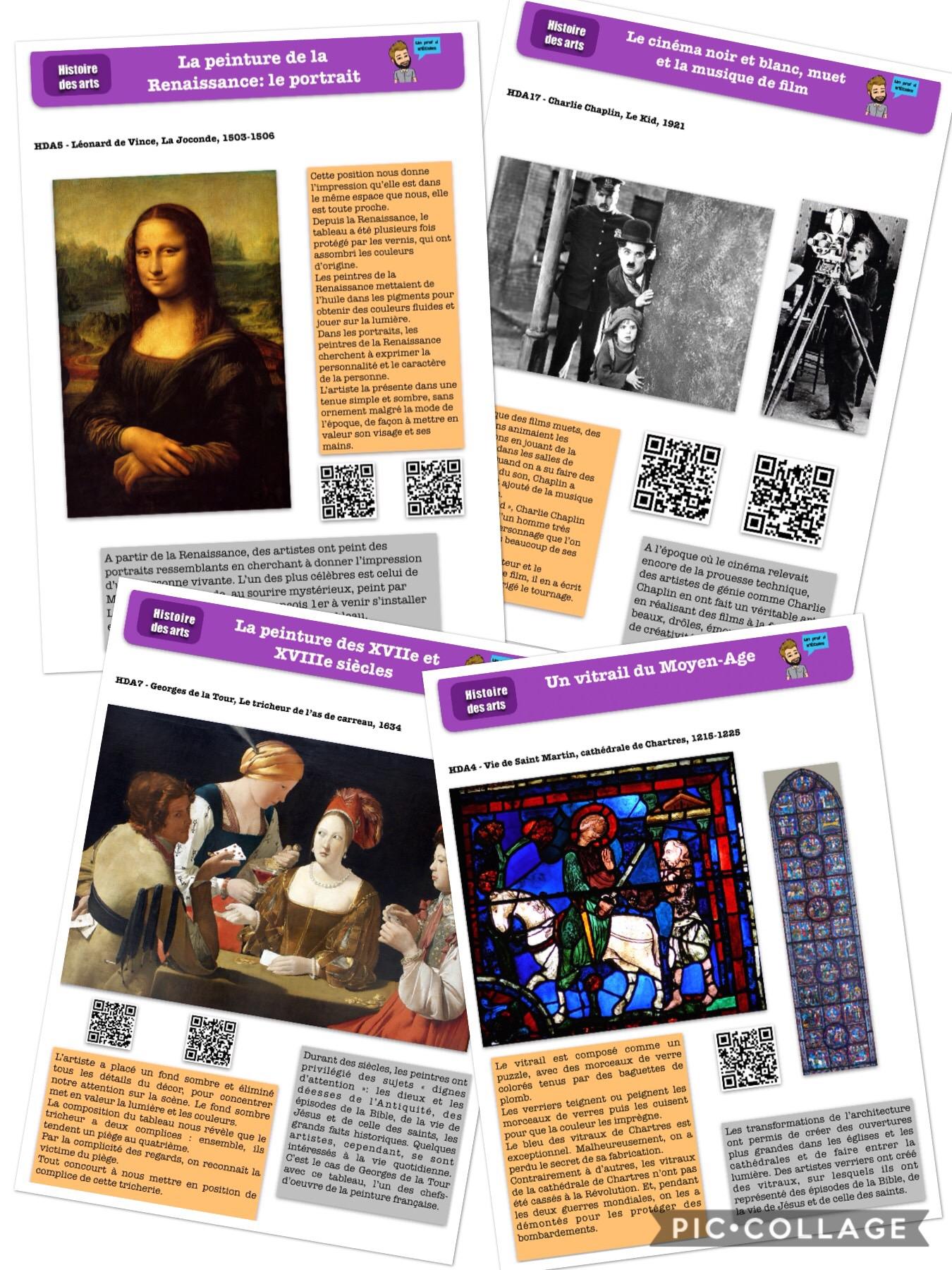 Histoire De L Art Cycle 3 : histoire, cycle, Fiches, D'histoire, [revisitées], Z'écoles