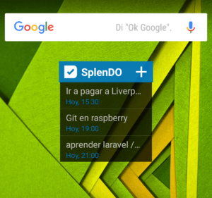 widget SpledDO