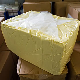 25kg butter block wrapped